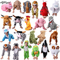 24 Styles Animal Disfraces Cosplay Sets Halloween Costumes For Kids Children's Christmas Clothing Boys Girls clothes 2T-9Y