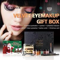 Christmas Gift Set Makeup Eye Shadow Powder Eyeliner Mascara Combination OC16