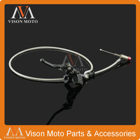 1200mm Black Hydraulic Clutch Lever Master Cylinder For 125 250cc Vertical Engine Offroad Motorcycle Pit Dirt