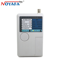 Original NOYAFA NF 3368 RJ11 RJ45 BNC USB Cat5 Cat6 UTP STP Network Wire Tracker LAN Network Cable Tester Detector Cable Tester