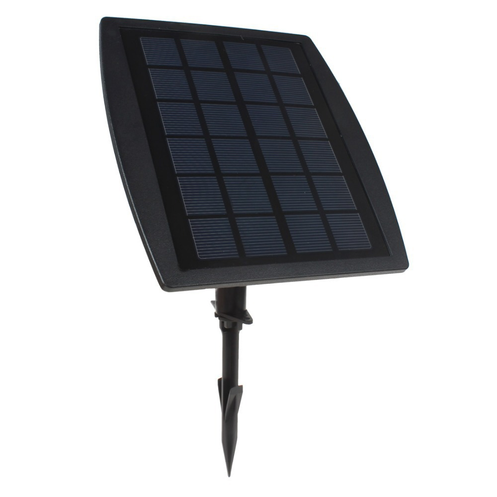 Hot Sale BSV-SL318C 3 x 6 RGB Color LEDs Solar Powered Adjustable Super Bright Lamps + 1 x Solar Panel for Garden / Pool bsv bsv sc007 portable solar charger bag black