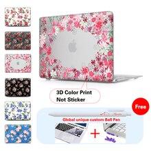 Rose Floral  Matte Onerous Case For Macbook Air 11 Air 13 Professional 13 Professional 15 Retina 13 15 Case For Macbook Professional 15 Case Display Protector