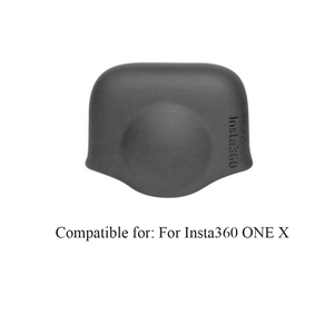 Image 5 - Funda protectora de silicona duradera para cámara, Accesorios Negros, protección antipolvo, antiarañazos, tapa de lente para Insta360 One X