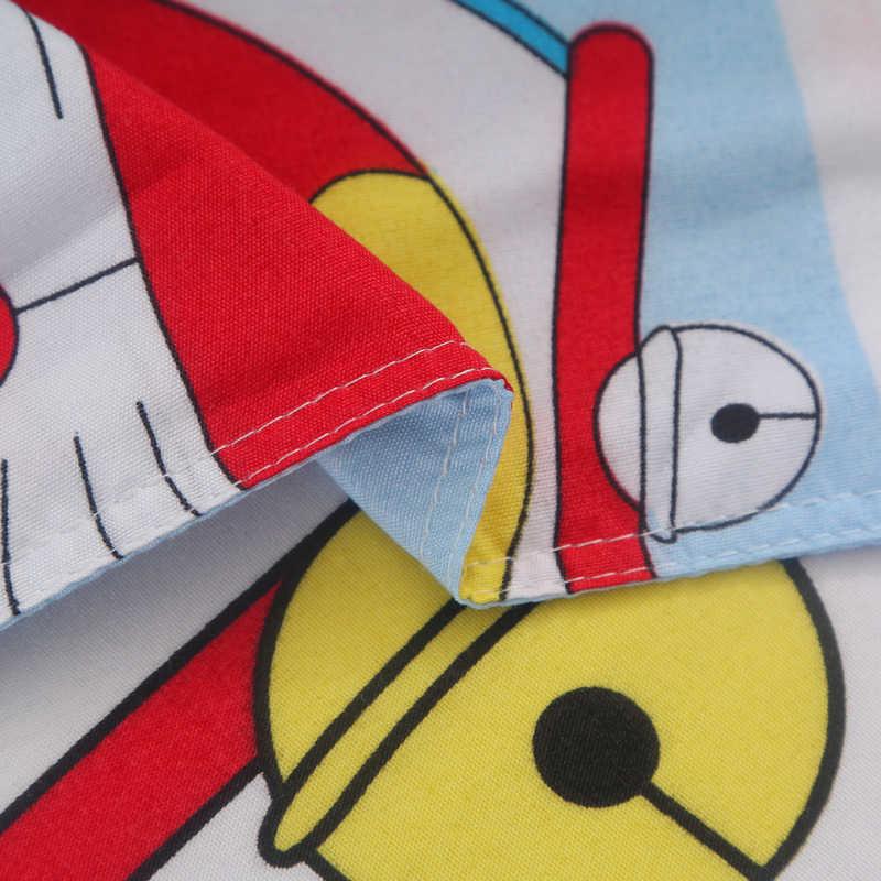 Doraemon Del Fumetto Set di Biancheria Da Letto Include Piumino Copertina Bed Copriletto Federe Per Bambini Morbido Biancheria Da Letto Doppia Completa Re Queen set Carino stile