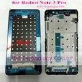 Moldura de ouro prata preto substituição frente frame/moldura para xiaomi redmi note3 pro note 3 pro (CPU: Snapdragon 650)