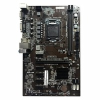 Motherboard H81A BTC V20 Miner ATX Board LGA1150 Socket Processor H81 Mainboard Support 6 Graphics Card For Mining