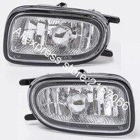 Fog Lights fits Nissan ALMERA 2000 2001 2002 SUNNY 1998 2002 BLUEBIRD 2000 2003 Clear Driving Lamps Pair