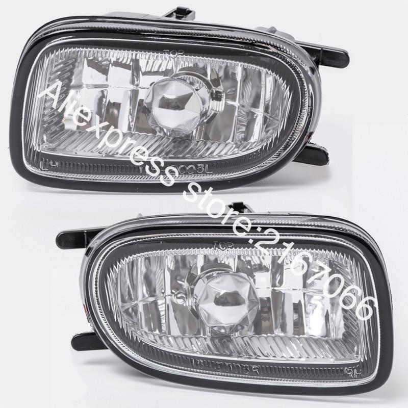 nissan bluebird 2000 - Fog Lights fits Nissan ALMERA 2000 2001 2002 SUNNY 1998 - 2002 BLUEBIRD 2000 - 2003 Clear Driving Lamps Pair