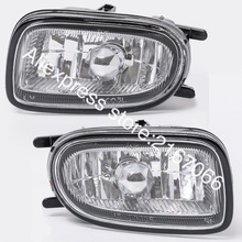 안개등 적합 Nissan ALMERA 2000 2001 2002 SUNNY 1998   2002 BLUEBIRD 2000   2003 Clear Driving Lamps Pair