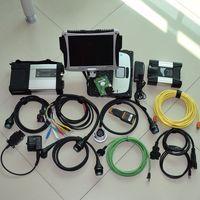 Новое поступление супер 2in1 инструменту диагностики для BMW ICOM следующий sd соединяет МБ Звезда c5 с cf19 ноутбука 4G toughbook touch Бесплатная DHL