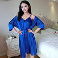 Seasons sexy sling ice silk nightgown pajamas temptation of summer two-piece pajamas women tracksuit free home delivery