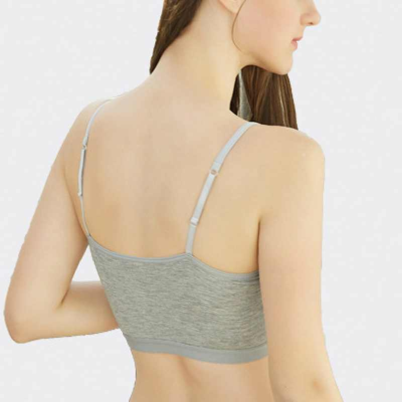 4 sztuk/zestaw nowa seksowna oddychający biustonosz sportowy Fitness kobiety wyściełana koszulka na ramiączkach do jogi do biegania ćwiczenia gimnastyczne bez szwu Crop Top odporny na wstrząsy koszule