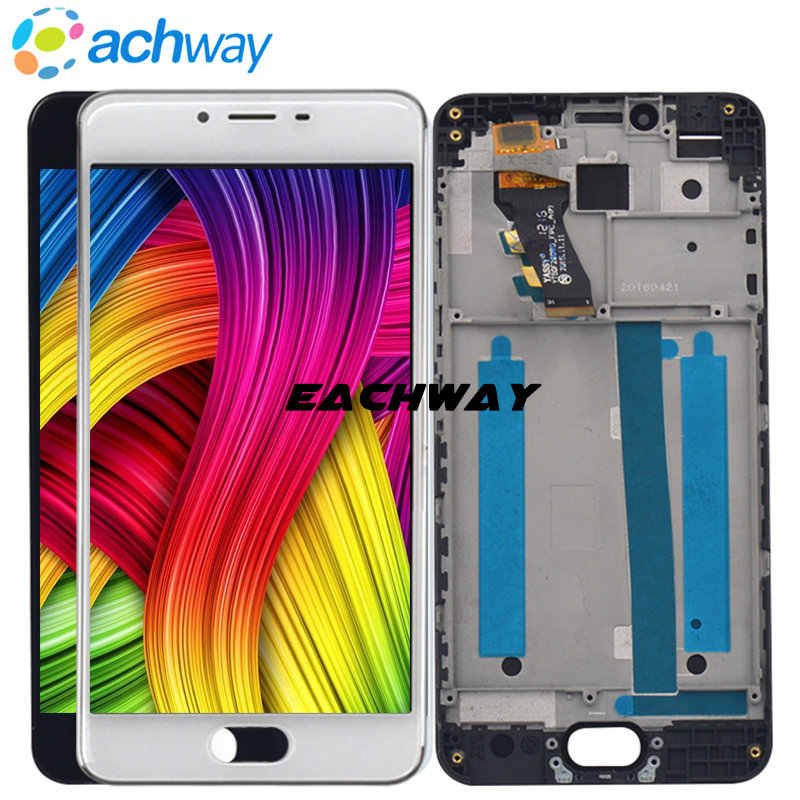 "eachway NEW 1280x720 Meizu M3S LCD Display Touch Screen Digitizer Assembly With Frame Replacement For 5.5"" MEIZU M3S Display"