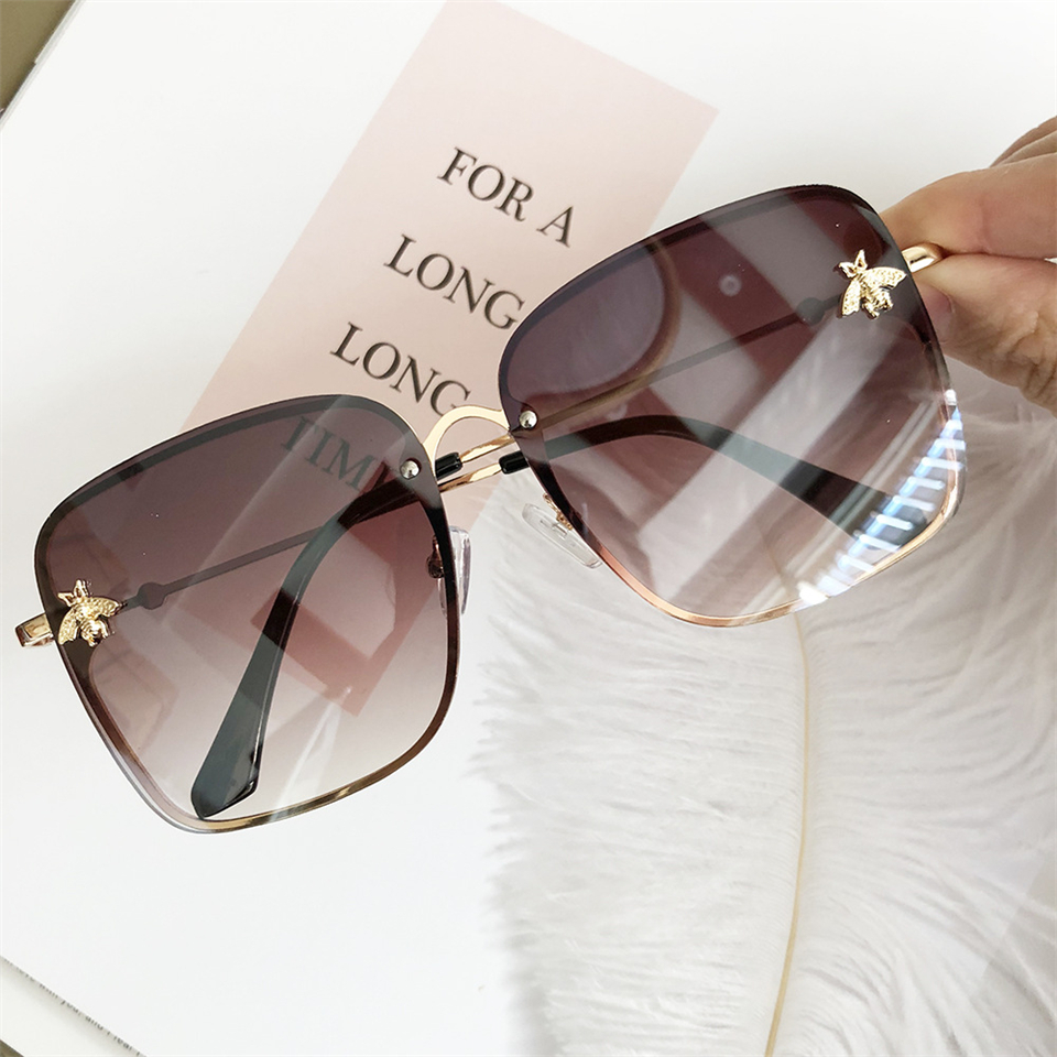 2019 Oversize Square Sunglasses Men Women Celebrity Sun Glasses Male Driving Superstar Luxury Brand Designer Female Shades UV400 (10)