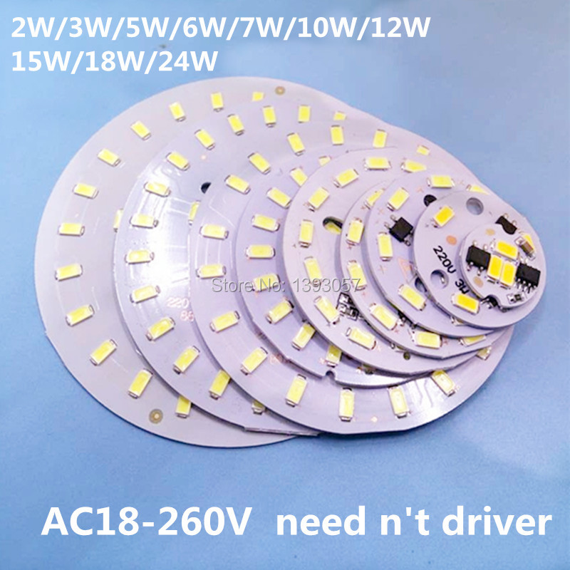 5pcs Latest 220V Direct 3W 5W 7W 10W 12W 15W 18W 24W 5730smd integrated IC Driver lamp Plate  Cold White/ Warm White бесплатная доставка integrated circuit ltc2909cts8 3 3 trmpbf ic monitor prec 3 3 в tsot23 8 ltc2909cts8 3 3 2909 ltc2909 3 шт