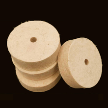 Drill Grinding Wheel 3 inch 80mm Buffing Wheel Felt Wool Polishing Pad Abrasive Disc For Bench Grinder Rotary Tool