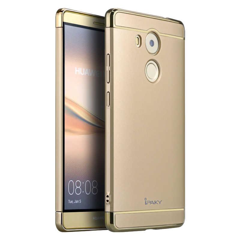 สำหรับ Huawei Mate 8 กรณี iPaky แบรนด์เดิมสำหรับ Huawei Mate 8 ฝาครอบ Fundas carcasas Hollow Hard เกราะสำหรับ Mate 8