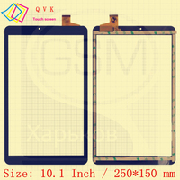 Schwarz 10 1 Zoll für Irbis TZ173 3G Irbis TZ 173 tablet pc kapazitiven touchscreen glas digitizer-bereich Kostenloser verschiffen