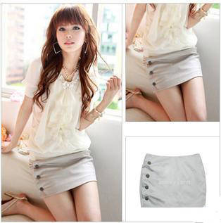 Summer ol slim hip short skirt a-line skirt bust skirt step skirt career dress elegant