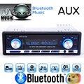 Radio de coche estéreo de Bluetooth del jugador del teléfono AUX-IN MP3 FM / USB / 1 Din / control remoto para el Iphone 12 V Car Audio Auto 2015 venta nuevo