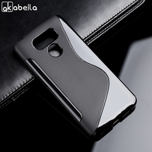 Black Soft Case For LG G6 Cover H870DS For Coque LG G6 Case Silicone H870 Etui X Power 2 Cases Europe Ver. M320TV Back Cover аксессуар чехол brosco для lg g6 black lg g6 book black