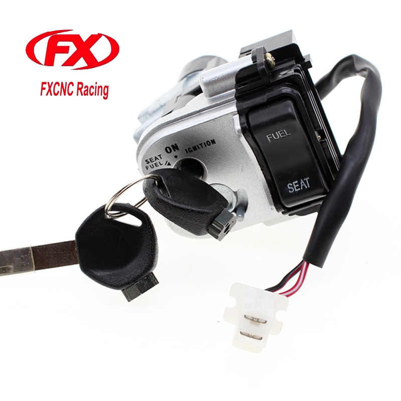CNC Motorcycle Ignition Switch Lock With Keys Set Ignition Switch For HONDA PCX125 PCX 125 PCX150 PCX 150 2014 - 2015 14 15 цена 2017