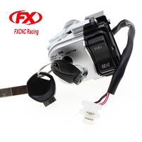 CNC Motorcycle Ignition Switch Lock With Keys Set Ignition Switch For HONDA PCX125 PCX 125 PCX150 PCX 150 2014 2015 14 15