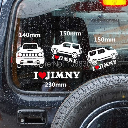 1 set cool japanese jdm vehicle car window whole body sticker decals 3m for i love