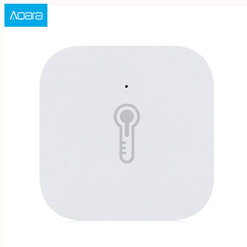 D'origine Xiaomi Aqara Mijia Smart Air Pression Température Humidité Capteur Maison Intelligente Dispositif Android IOS APP Zigbee Connexion