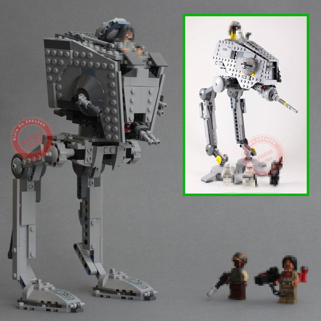 NEW The Rogue One imperial AT-ST Walker AT-DP fit legoings star wars figures model Building Blocks brick diy toys gift kid setNEW The Rogue One imperial AT-ST Walker AT-DP fit legoings star wars figures model Building Blocks brick diy toys gift kid set