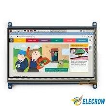 Elecrow Raspberry Pi 3 Дисплей 7 дюймов ЖК-дисплей Сенсорный экран HDMI 1024×600 монитор для Raspberry Pi 3 2B B pcDuino банан Pi Win7 8