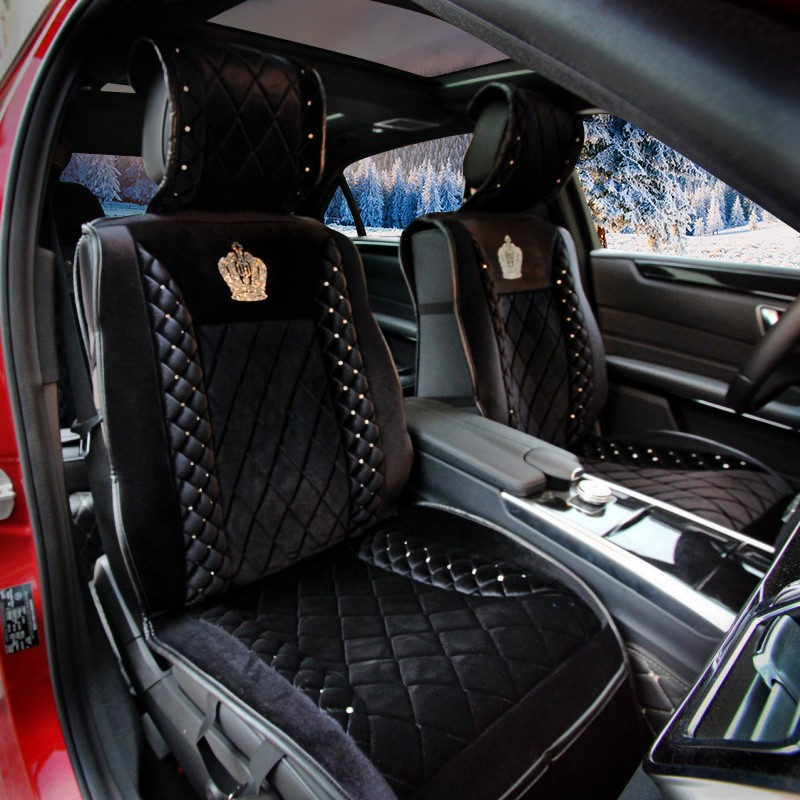 Crystal-Plush-Car-Seat-Cushion-Universal-Winter-Crown-Female-Seat-Covers-8pcs-Sets-Black-l1