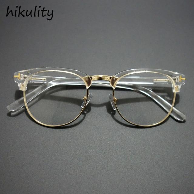 design de qualité 5d0e2 492c4 € 3.46 10% de réduction|Lunettes en argent de luxe lunettes de vue claires  femmes marque Designer montures de lunettes transparentes lentilles claires  ...