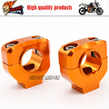 28mm CNC Aluminum Motorcycle Handlebar Support Mount Clamp Riser fits for KTM EXC 125-530cc 690 950 990