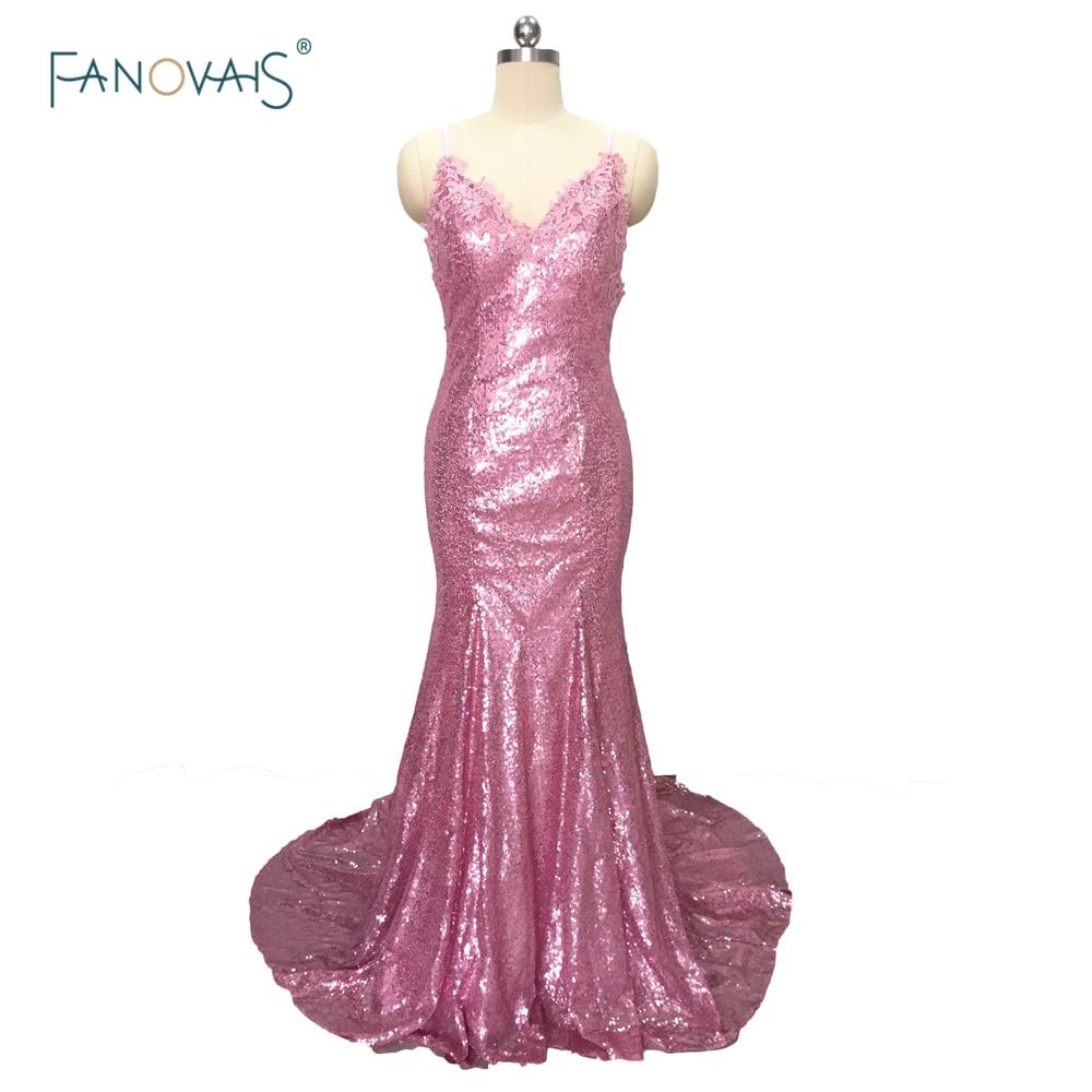 Sexy Pink v-cuello Encaje apliques piso de la blusa longitud larga ...