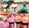 Outdoor Air Filled Adult Child Size Inflatable Costume Clothing Sumo Wrestler KoNoMi Humor Funny Party Cosplay