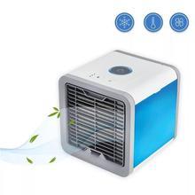 Мини USB портативный кондиционер увлажнитель воздуха очиститель 7 цветов светильник Настольный вентилятор охлаждения воздуха вентилятор для офиса