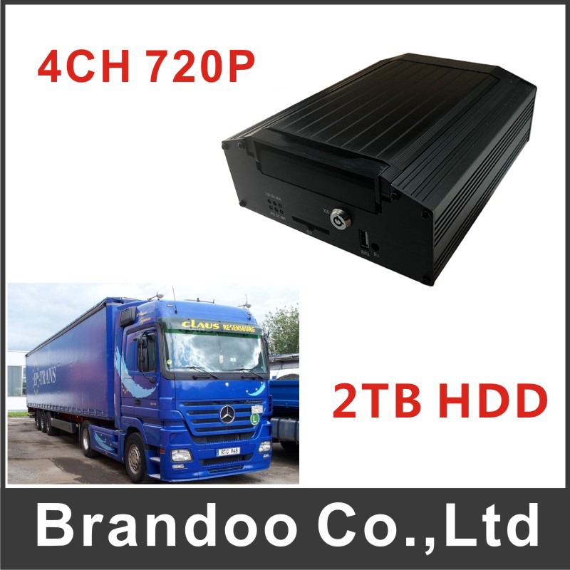 4CH HDD Car DVR For Bus Truck Vans MDVR 720P Car Video Recorder For Large Vehicle AHD Mobile DVR цены