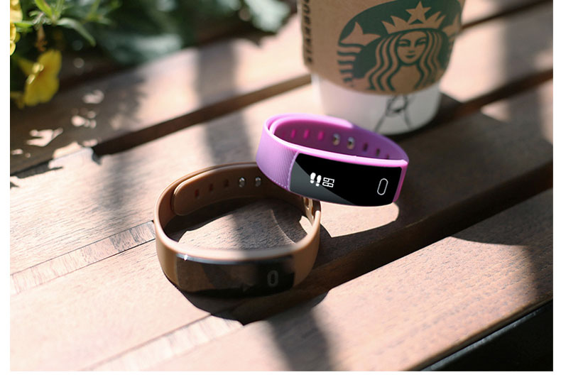 Smart watches  brand bracelet wristband bluetooth heart rate message reminder Sleep Monitoring purple a 15
