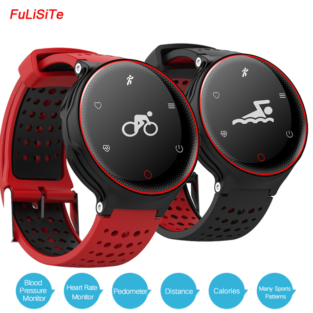 Ip68 Waterproof X2 Sports Health Bracelet Blood Pressure Heart Rate Monitor Fit Band Long Standby Battery