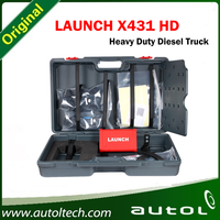 DHL Free Newest LAUNCH X431 HD Heavy Duty Truck Diagnostic Adapter Box Work With X431 V