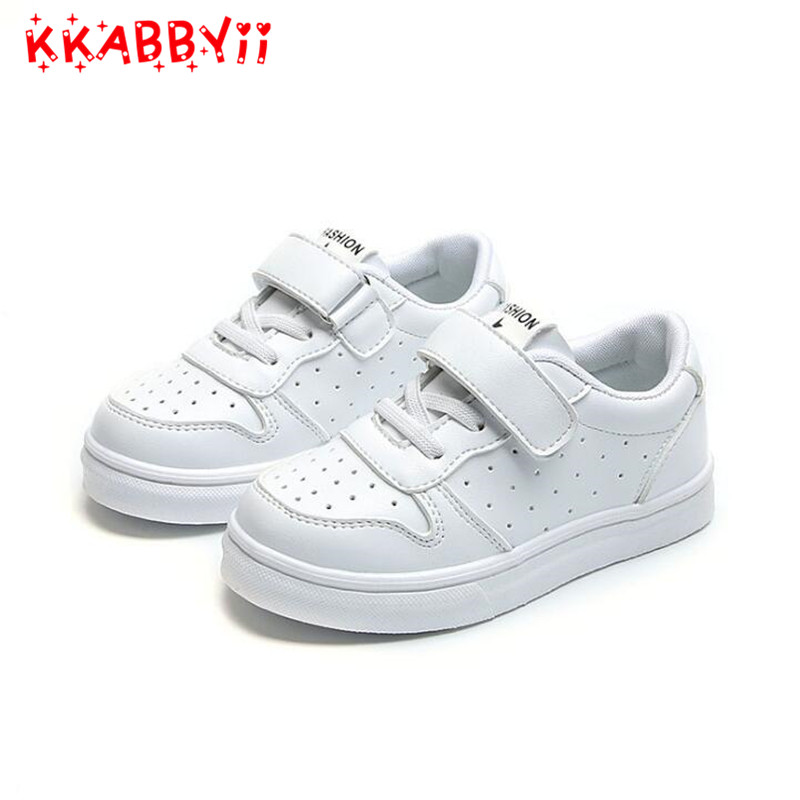 Kids Shoes Sneaker 2018 New Boys Girls Spring Children Toddler Rubber Shoes For Girl Non-Slip School Flat Childs Tenis Infantil