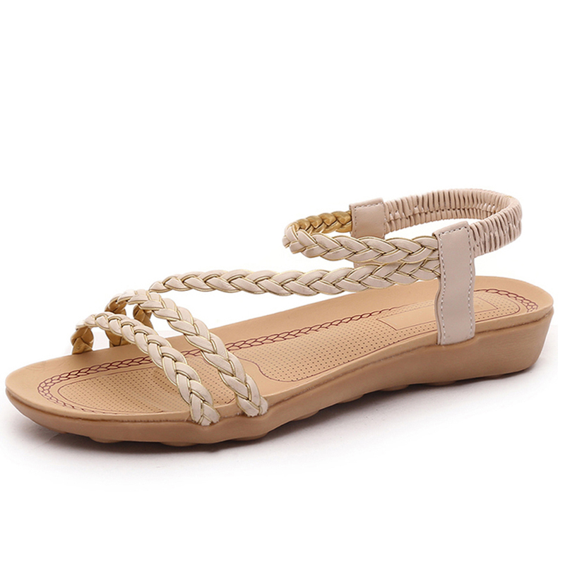 Women Sandals 2018 Women Flat Sandals Gladiator Casual Shoes Women Flip Flops Sandals Summer Women Fashion Beach sandalias mujer fashion sandals women flower flip flops summer shoes soft leather shoes woman breathable women sandals flats sandalias mujer x3