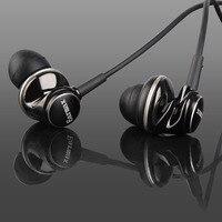 New Earmax ER100 Dynamic In Ear Headphones Earphones Zinc Alloy Housing