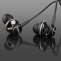 New Earmax ER100 Dynamic In Ear Headphones Earphones Zinc Alloy Housing