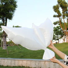 wholesale 10pcs/lot eco-friendly material Pigeon balloon/wedding helium balloons/wedding decorations dove balloons free shipping