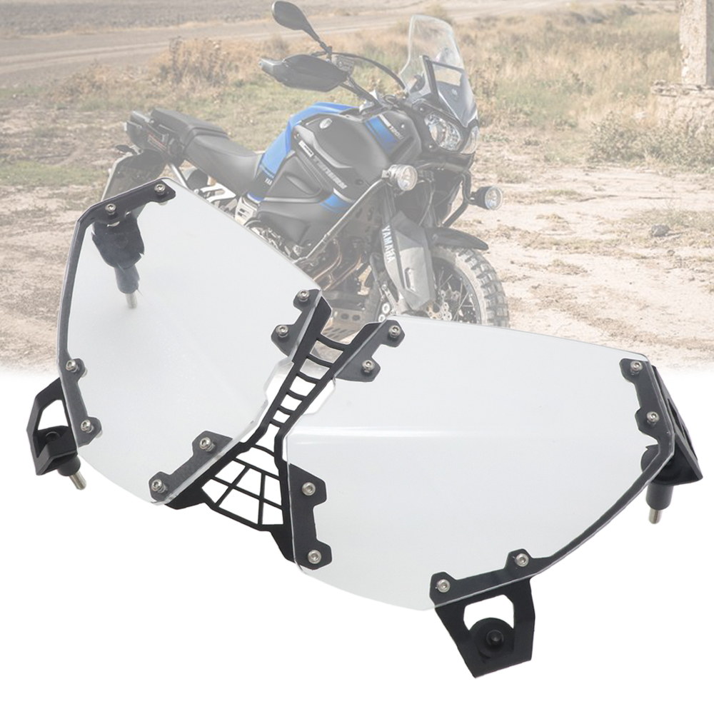 For YAMAHA XT1200Z XT 1200 Z Super Tenere 2010-2018 Motorcycle modification Headlight Guard Cover ProtectorFor YAMAHA XT1200Z XT 1200 Z Super Tenere 2010-2018 Motorcycle modification Headlight Guard Cover Protector
