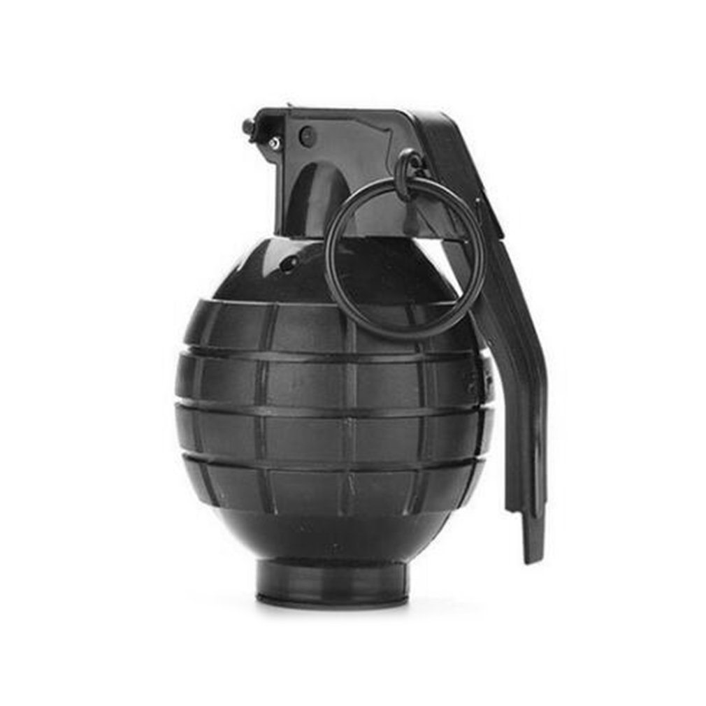 1pcs Ammo Game Bomb Launcher Blast Replica Military Military Black Simulation Hand Gags Pranks Tricky Toy Kids Gifts