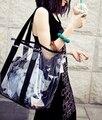 Transparent bag 2016 new summer Korean version of the  beach jelly bag crystal shoulder bag