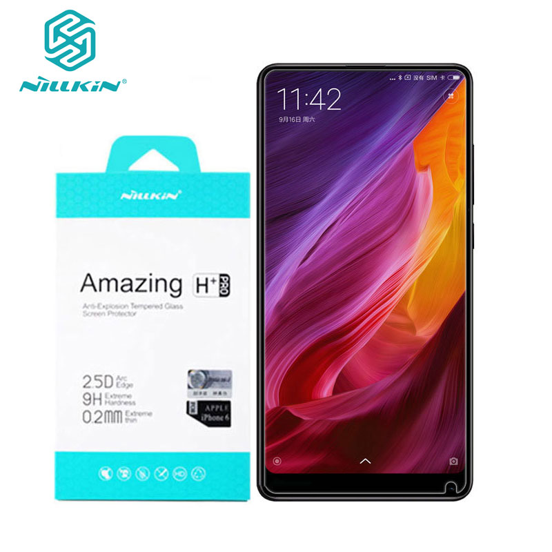 For Xiaomi Mi Mix 2S Glass Nillkin Amazing H+Pro 0.2MM Screen Protector Tempered Glass For Xiaomi Mi Mix 3 2 2S Mix2 Mix3-in Phone Screen Protectors from Cellphones & Telecommunications on